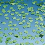 Groene klavertjes confetti