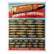 Metalen wandplaat Remington