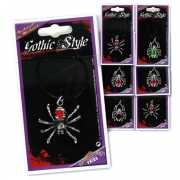 Zilveren spinnen ketting