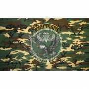 Camouflage 101st Airborne Division vlag