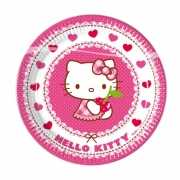 Hello Kitty bordjes 8 stuks