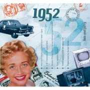 Historische verjaardag CD kaart 1952