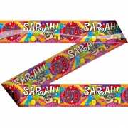 Sarah 50 jaar markeerlint 15 meter