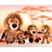 Pluche leeuw Kumba knuffel 23 cm