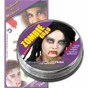Halloween Zombie schmink grijs