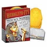 Post its in Egyptische stijl