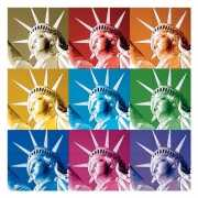 Vrijheidsbeeld servetten 20 stuks