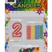 Verjaardag kaarsen set nummer 2