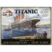 Mini muurplaatje Titanic Queen 15x20cm