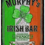 Mini muurplaatje Murphy Irish Bar 15x20cm
