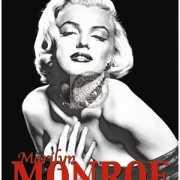 Mini muurplaatje Marilyn Monroe 15x20cm