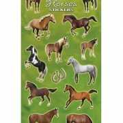 Stickervel grote paarden