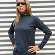 Craft thermo poloshirt blauw  voor dames
