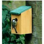 Vogelhuisje houten nestkast 22 cm