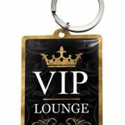 VIP Lounge sleutelhanger 4,5 x 6 cm
