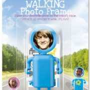Walking photo frame