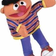 Pluche Ernie handpop 35 cm