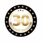 Luxe Bierviltjes 30 jaar