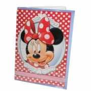 Grote verjaardagskaart Minnie Mouse 26 x 38 cm