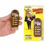 Geluidsmachine met paarden geluiden