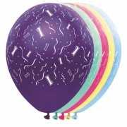 Helium leeftijd ballonnen 1 jaar