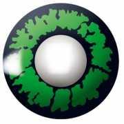 Party lenzen groene reptiel ogen