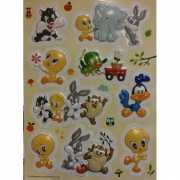 Looney Tunes 3D stickers op A4