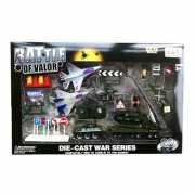 Complete militaire speelgoedset
