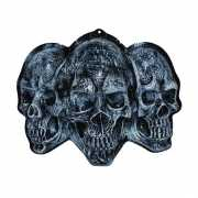 Halloween 3D wanddecoratie schedels