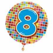Folie ballon 8 jaar