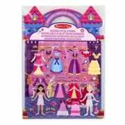 Stickerboek met prinses thema