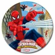 Spiderman feestbordjes Warrior 8x