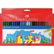 Viltstiften gekleurd 50 stuks